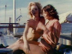 Retro groupsex on a yacht