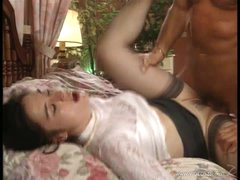 Retro Anal Threesome